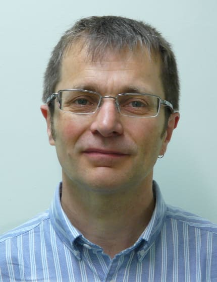 Dr Jamie Healey, clinical Scientist